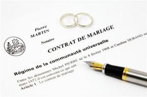 mariage et credit